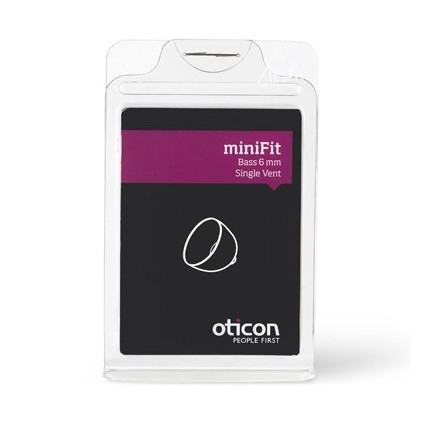 MiniFit - bass dome enkel vent