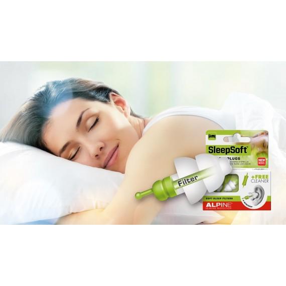 Alpine SleepSoft søvnpropper / Snorkepropper