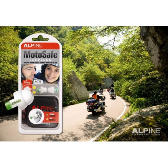 Alpine MotoSafe - ørepropper for MC